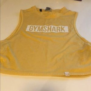 Gymshark crop top from LA pop up